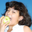 apple girl — Lizenzfreies Foto