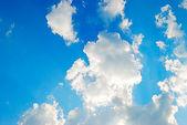 Beautiful dinamic sky with nice colors — Stock Photo