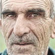 closeup portrait of old man — Stock Photo #21478101
