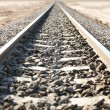 Stock Photo: Desert railroad