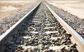 çöl demiryolu — Stok fotoğraf