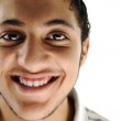 Teenager smiling, face isolated — Stock Photo #21480241