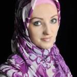 Beautiful Muslim fashion girl — Stock Photo #21485627