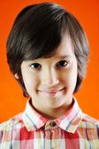 Closeup portrait of kid — Stock Photo