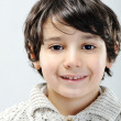 Closeup portrait of kid — Stockfoto
