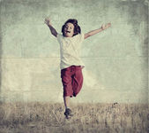Happiness without limit — Stock Photo