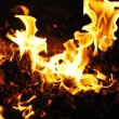 Stock Photo: Flames of fire