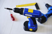 Drill and working tools equipment — Stock Photo