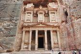 Petra, la ciudad antigua, jordania — Foto de Stock