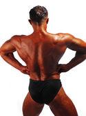 Bodybuilder back — Stock Photo