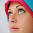Muslim girl with hijab — Stock Photo #26242891