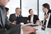 Group of business at meeting in office — Stock Photo