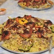 Stock Photo: Arabic traditional food