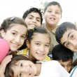 Group of happy children — Stock Photo #26255463