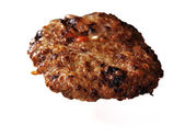 Fried hamburger — Stock Photo