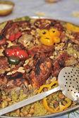 Arabian traditional food — Stock Photo