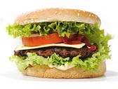 Big burger — Stock Photo