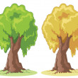 Stock Photo: Cartoon tree