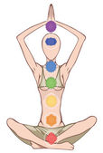 Chakras — Stock Photo