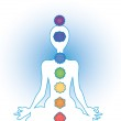 Seven chakras — Stock Photo #19728819