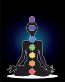 Seven chakras — Stock Photo