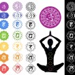 Seven chakras — Stock Photo #36189163