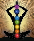 Sept chakras — Photo