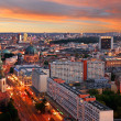Stock Photo: Berlin skyline sunset