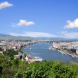 Skyline of budapest — Stock Photo