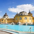 Budapest szechenyi bath - Stock Photo