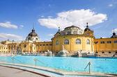 Budapest szechenyi bath — Stock Photo