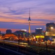 Stock Photo: Berlin Skyline