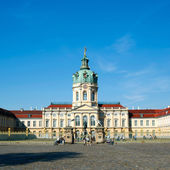 Berlin Schloss Charlottenburg castle — Stock Photo