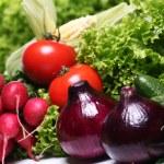 Pile of fresh vegetables — Stock Photo #12796651