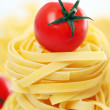 Royalty-Free Stock Photo: Italian pasta and cherry tomato
