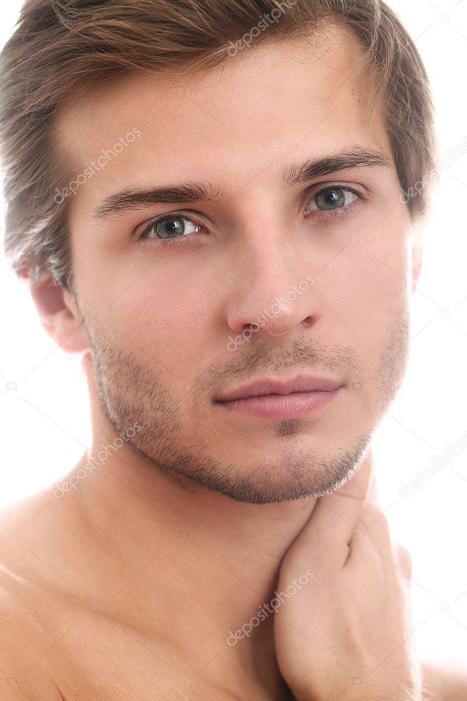 Dieta Pra Emagrecer Com Saúde depositphotos_17054601-Charming-and-handsome-man-face