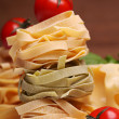 Royalty-Free Stock Photo: Fresh ingredients for pasta isolated