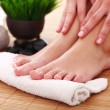Stockfoto: Beauty womlegs after spa