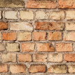 Wall from red bricks — Stock Photo #22193281