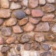 Wall from red bricks — Stockfoto #22205357