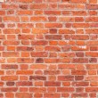 wall from  red bricks — Foto Stock