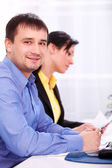 Business working at office — Stock Photo