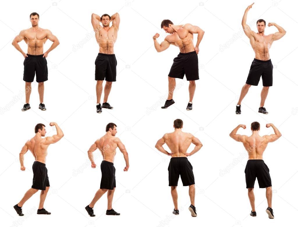 7 basic bodybuilding poses