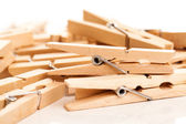 Eko clothespins portre resmi — Stok fotoğraf
