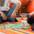 Stockfoto: Young couple playing game