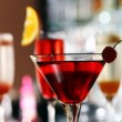 Various cocktails on bar stage — Stock Photo #26368913