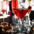 verschillende cocktails op bar stadium — Stockfoto #26369739