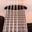 Closeup image of guitar fingerboard — Stock Photo #26452459