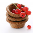 Berries in a basket — Stock Photo