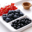 Stock Photo: Lots of different berries
